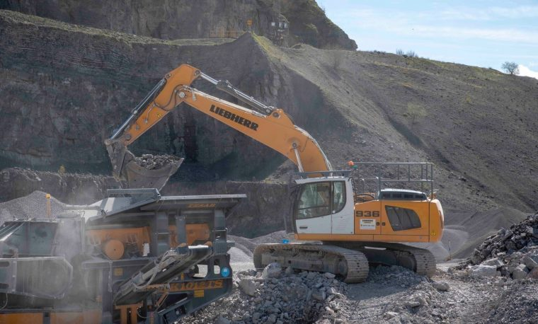 Thor Atkinson crushing contracts with Liebherr Rental Ltd