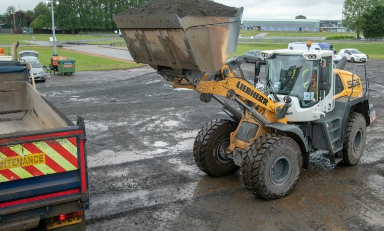 Liebherr puts in a first class performance at Silverstone
